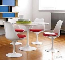 意大利原版郁金香椅Tulip Chair(360度旋轉,玻璃鋼制)
