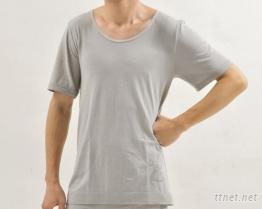 奈納(白)碳男短袖上衣