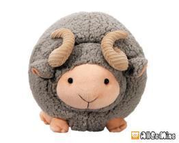 脫身綿羊-絨毛娃娃