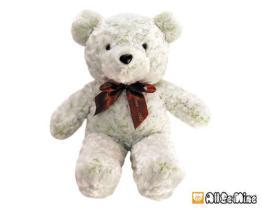 浪漫玫瑰熊-絨毛玩具