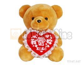 1314我愛妳熊-絨毛娃娃