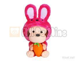 兔子變裝ㄚ搞-玩偶