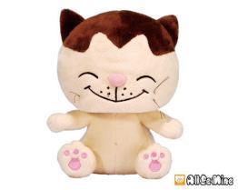 變身俏皮日本貓-絨毛娃娃