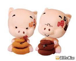 屁股豬-玩偶