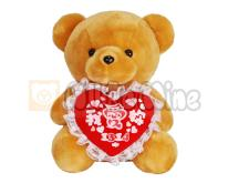 1314我爱妳熊-绒毛娃娃