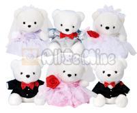 婚纱熊-绒毛玩具