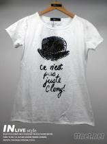 個性印花T恤