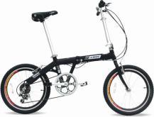 铝合金折叠脚踏车