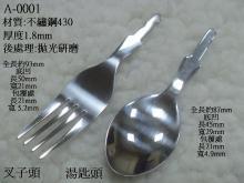 A-0001湯匙頭與叉子