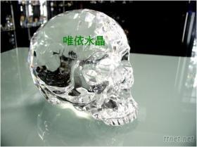 水晶骷髏頭 骷髏頭 水晶工藝品 中國水晶