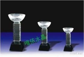 水晶獎杯 水晶獎牌 水晶工藝品 中國水晶