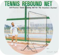 網球反彈網架