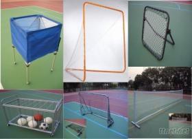各式球門、球架、球車及各式運動用品