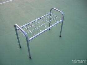 網,羽球 球拍架