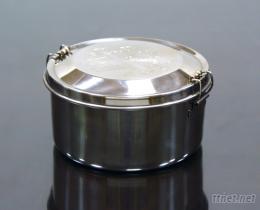 14双扣不锈钢便当盒/餐具/餐盒/环保餐具/便当盒/不锈钢304