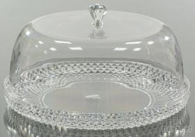 鑽石頭蛋糕盤/托盤/點心盤/奶油盤/餐盤/塑膠盤/婚禮布置/婚禮佈置