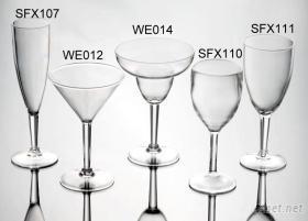 塑胶酒杯, 塑胶杯, 压克力杯, 马丁尼杯, 红酒杯, 白酒杯, 玛格丽特杯, 香槟杯