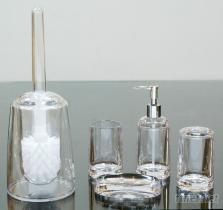 新下胖型卫浴组, 乳液罐, 肥皂盘, 牙刷架, 漱口杯