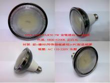 DNX LED 7W PAR30 省電燈泡 E27接頭