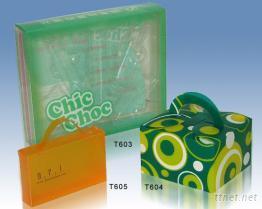 塑膠手工折疊盒