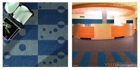 簇絨地毯,辦公地毯