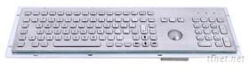 防暴金属键盘