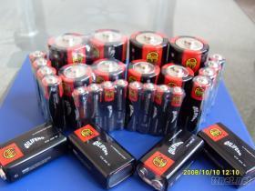 1.5V AA AAA碳性環保乾電池(圖)