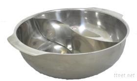 鴛鴦鍋(巧手S型雙格鴛鴦鍋)