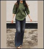 拉絔系列中袖衫
