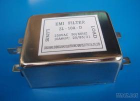 單相雙極濾波器-ZL-10A-D