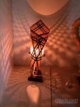 竹編小夜燈