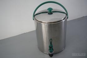 304不钢冷、热2用茶桶