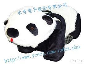 機械騎乘-熊貓