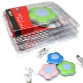 梅花形七彩小夜燈USBHUB集線器,廣告禮品,廣告促銷品