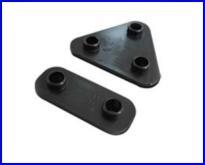 塑胶固定座(2.3孔一组)
