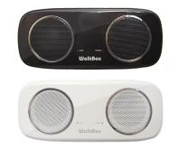插卡式MP3隨身喇叭-支援SDHC記憶卡 騎自行車登山釣魚必備 可外接iPod/電腦(Walkbox PS3110)