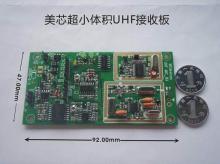 超小體積UHF 無線麥克風接收板