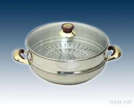 單層炒菜火鍋蒸籠組