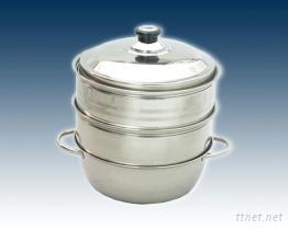 28cm雙層蒸籠火鍋組