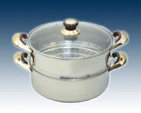 不锈钢双层蒸锅