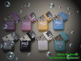 Micro SD, TF to USB 讀卡機