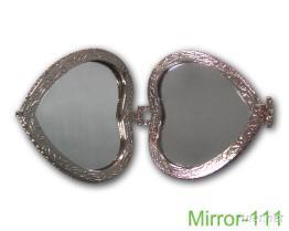 心型雙面鏡