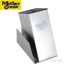 《美國鵝媽媽》方型砧板刀座