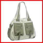 時尚焦點品牌:外貿新款多袋手提包單肩包斜背包 1003白色