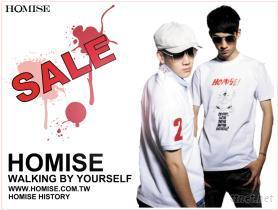 HOMISE台灣自創品牌潮流服飾