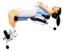 仰臥運動椅