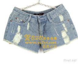夏天必備熱牛仔短褲