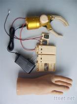 前臂雙通道開關控制假手