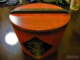 彩繪小木桶