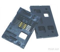 摩擦式IC卡卡座